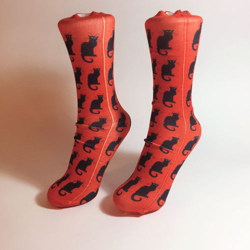 Steinlen Socks (Chat Noir)