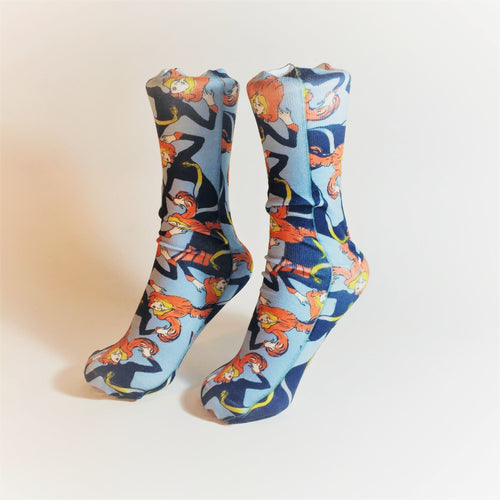 Toulouse-Lautrec Socks (Jane Avril)
