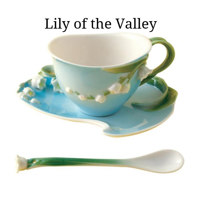 Garden Party Porcelain Tea Set - 6 Designs