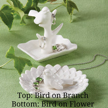 Porcelain Bird Jewelry Holder