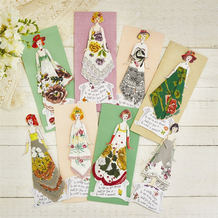 Handkerchief Greetings with Mailing Envelope