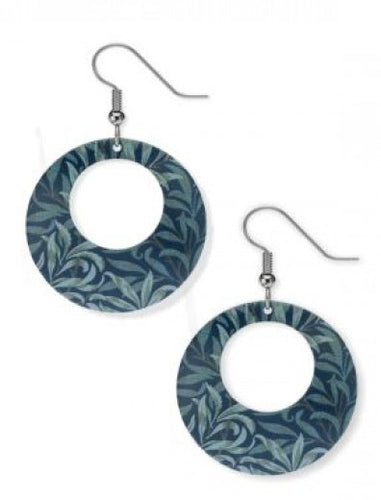 William Morris Willow Earrings