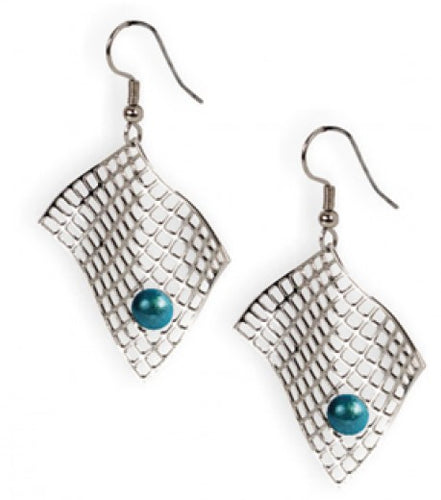 Bertoia Diamond Armchair Earrings