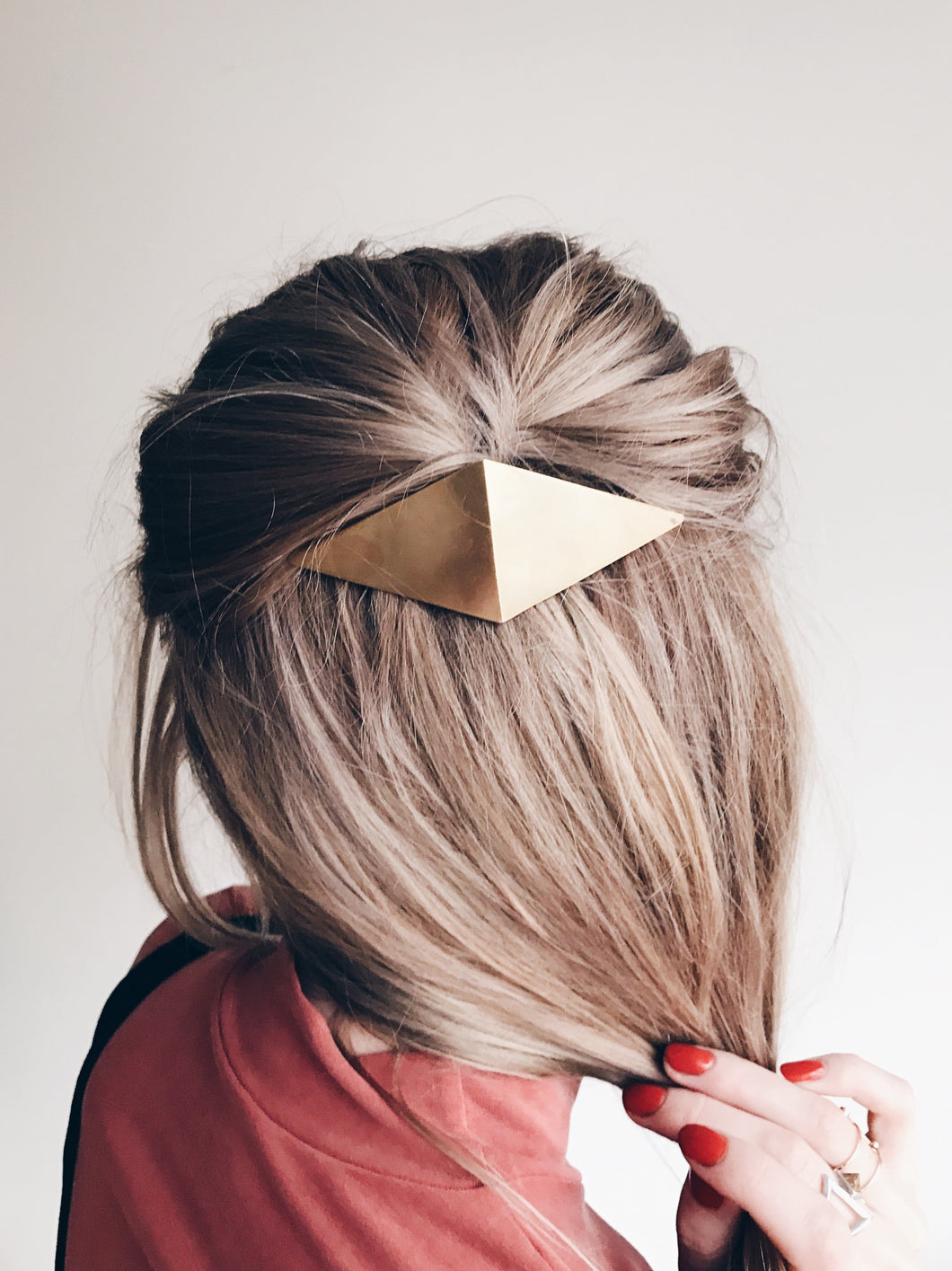 Lindsay Lewis - Folded Diamond Barrette