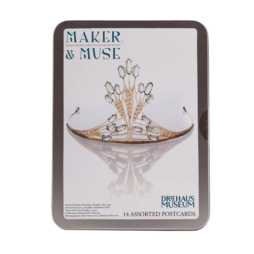 Maker & Muse Postcard Tin