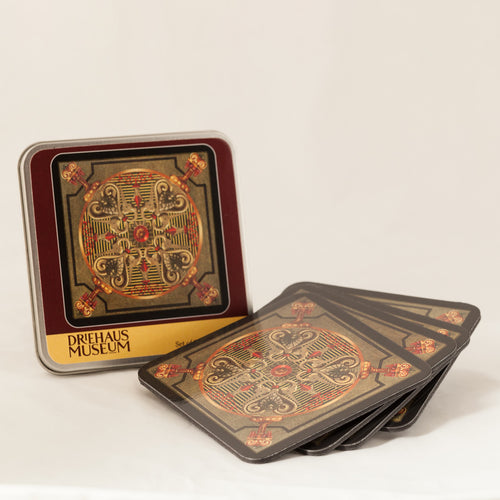 Library Collection Coaster Set