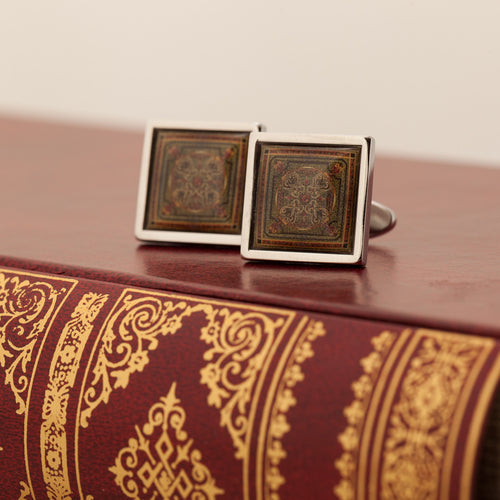Library Collection Cufflinks