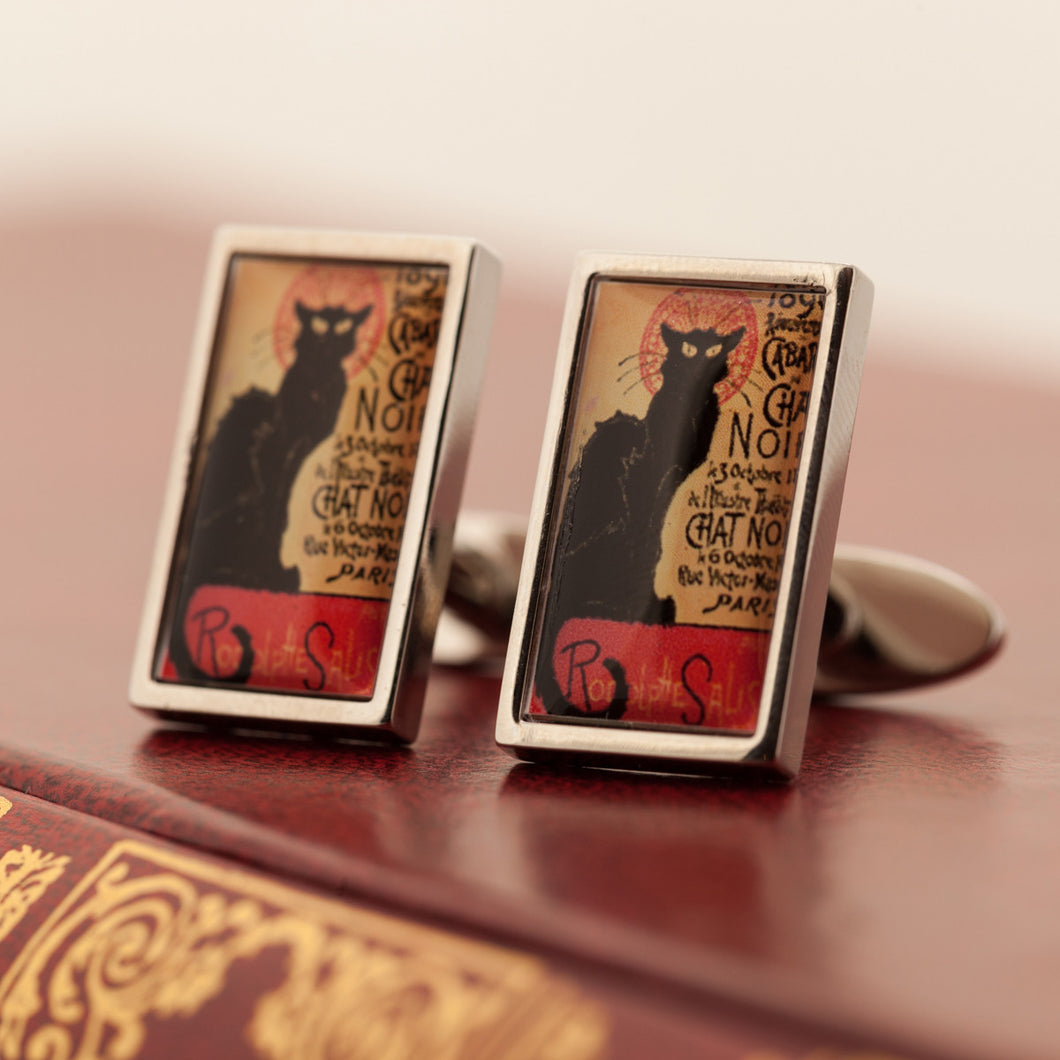 Steinlen Cufflinks (Chat Noir)
