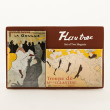 L'Affichomania Magnets - Set of Two