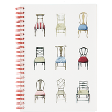 Musical Chairs Wire Bound Notebook