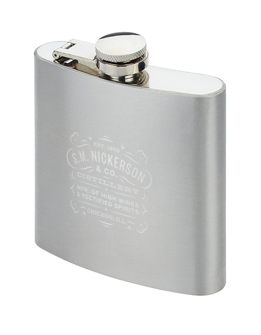 S.M. Nickerson & Co. Hip Flask