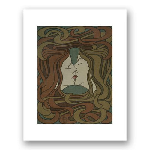 Untitled (The Kiss) by Peter Behrens