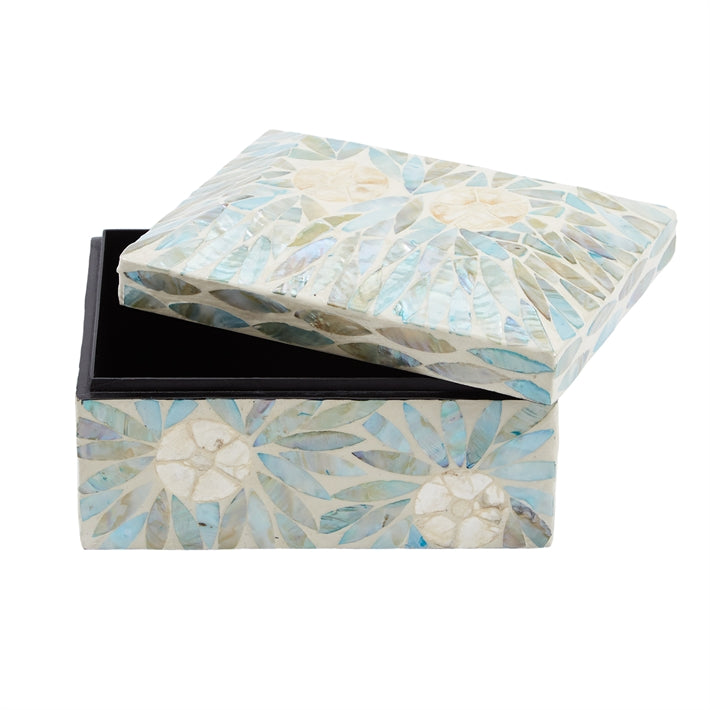 Palawan Flower Mother of Pearl Decorative Box
