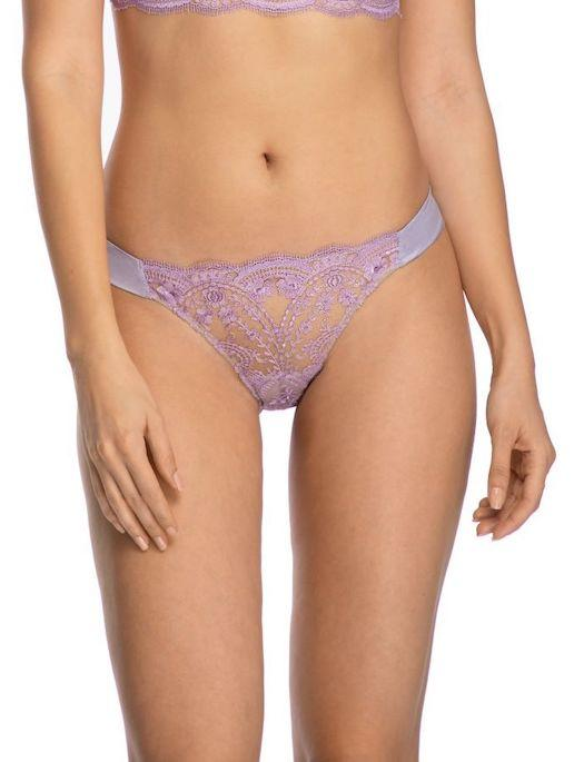 ID Sarrieri A La Rose Embroidered Tulle Thong PANTY - THONG - FASHION I.D. SARRIERI