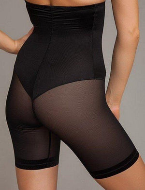Janira Secrets Silueta High Waist Invisible Thigh Shaper Plus Size SHAPEWEAR - PANTY - HW LL JANIRA BLACK 2X