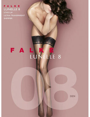 Falke Lunelle 8 Denier Stay Up Thigh Highs ACCESSORIES - HOSIERY FALKE