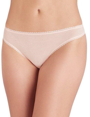 On Gossamer Mesh Hip-G Thong PANTY - THONG - ODD ON GOSSAMER BLUSH LG/XL