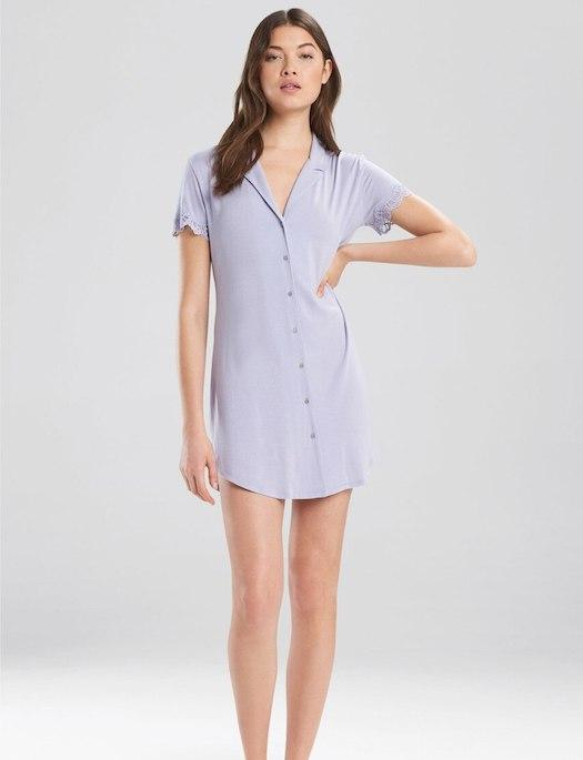 Josie by Natori Lingerie Bardot Essentials The Sunday Sleepshirt