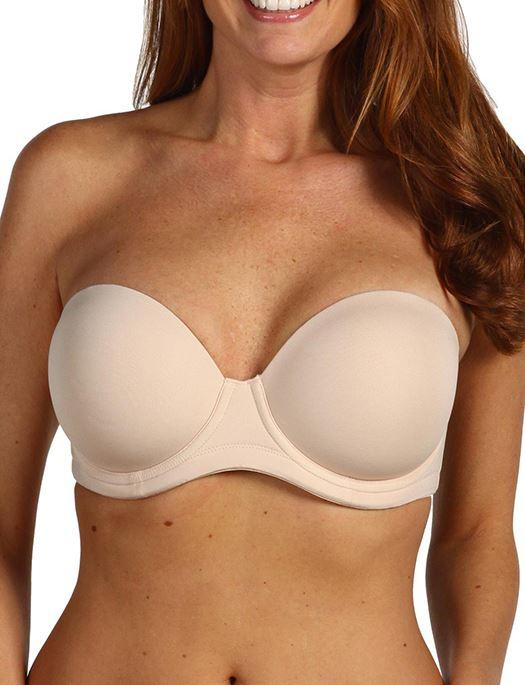 Wacoal Red Carpet Full Busted Strapless Bra BRA - BASIC - STRAPLESS WACOAL NAT NUDE 30D