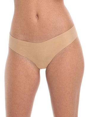Commando Cotton Thong PANTY - THONG - ODD COMMANDO NUDE M/L