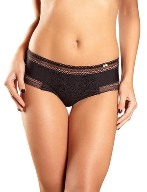 Chantelle Festivite Lace Cheeky Bikini PANTY - BIKINI - BASIC CHANTELLE BLACK XL