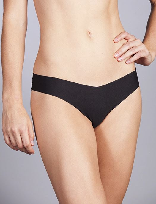 Commando Cotton Thong PANTY - THONG - ODD COMMANDO BLACK M/L