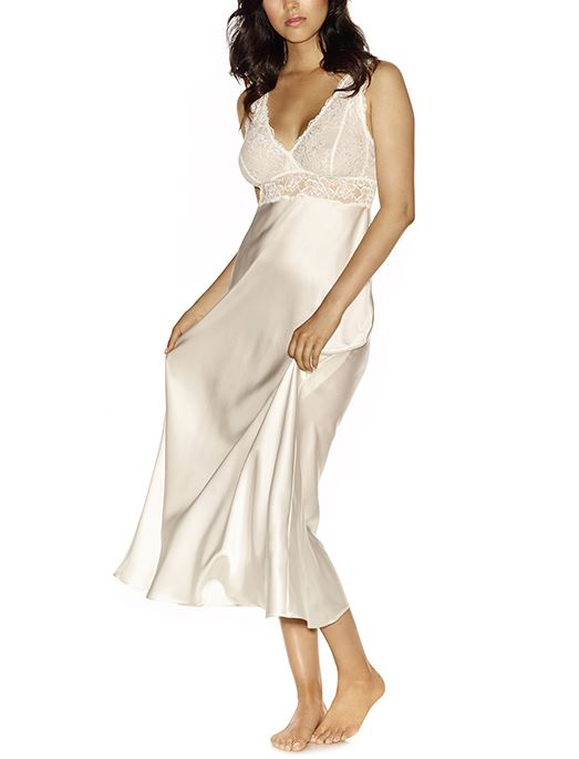 NK iMode Morgan Bust Support Silk Long Gown SLEEPWEAR - GOWN - REP NK