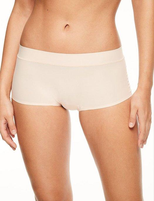 Chantelle Soft Stretch Regular Boyshort PANTY - BOYSHORT - ODD CHANTELLE 1N-NUDE BLUSH O/S