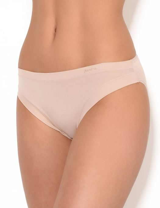 Janira Cotton Escencial Regular Brief 3 pack PANTY - BRIEF - ODD JANIRA NUDE SM