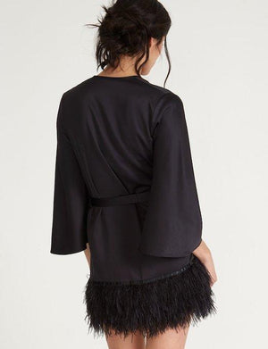 The Rya Collection Swan Cover Up SLEEPWEAR - ROBE - ROBE 2 ($101-$200) Rya Collection