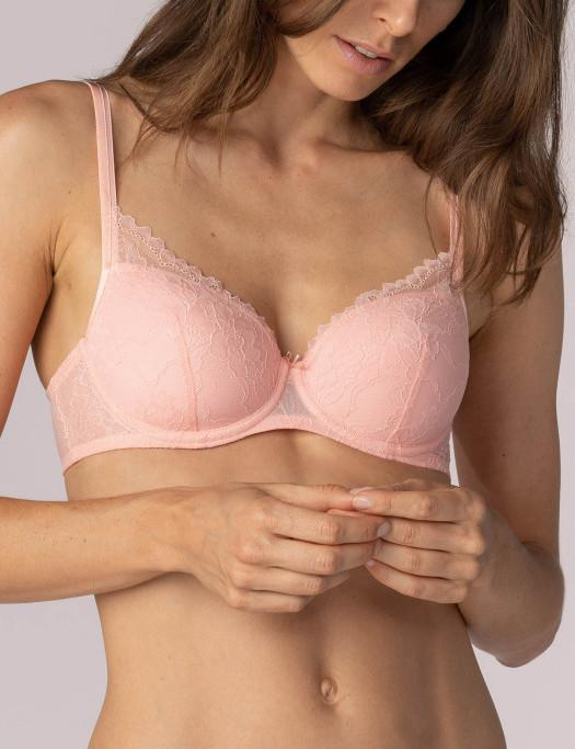 Mey Fabulous Spacer Bra BRA - FASHION - FASHION BRA 2 $101-$130 Mey PEACH ROSE 32C