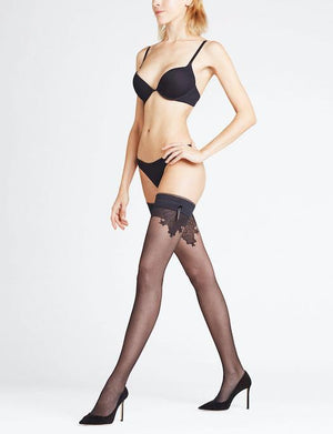 Falke Ceremonial 15 Denier Stay Up Thigh High ACCESSORIES - HOSIERY FALKE