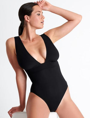 Shan Intemporel Plunge One Piece Swimsuit SWIM - ONE PIECE SHAN