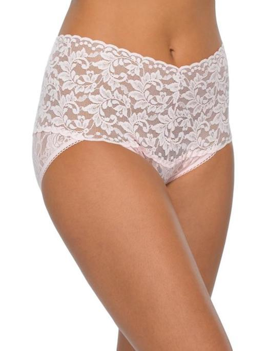 Hanky Panky Retro Collection V-Kini PANTY - BRIEF - ODD Hanky Panky BLISS PINK MD