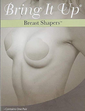 Bring It Up Breast Shapers Clear for A/B cups ACCESSORIES BRING IT UP CLEAR A/B