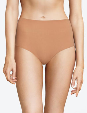 Chantelle Soft Stretch High Rise Brief PANTY - BRIEF - ODD CHANTELLE EX-SANDALWOOD O/S