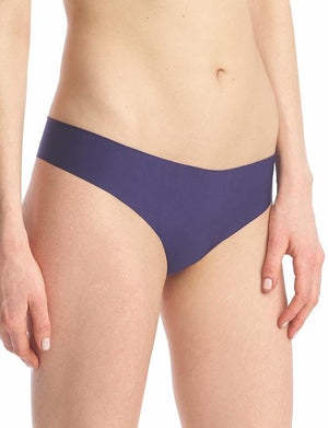 Commando Butter Mid-Rise Thong PANTY - THONG - ODD COMMANDO BLACKBERRY MD