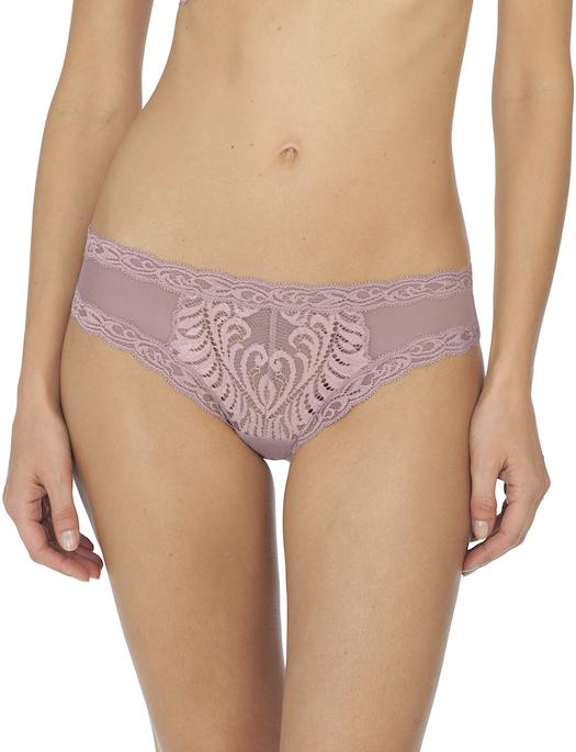 Natori Feathers Hipster PANTY - BRIEF - FASHION NATORI BRA SPANISH ROSE MD