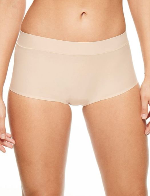Chantelle Soft Stretch Regular Boyshort PANTY - BOYSHORT - ODD CHANTELLE WU-NUDE O/S