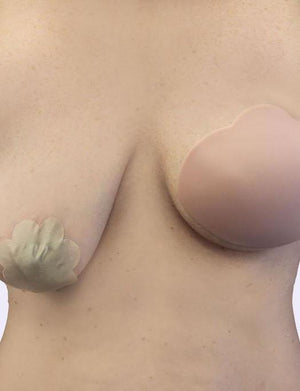Bring It Up Breast Shapers Clear for C/D cups ACCESSORIES BRING IT UP