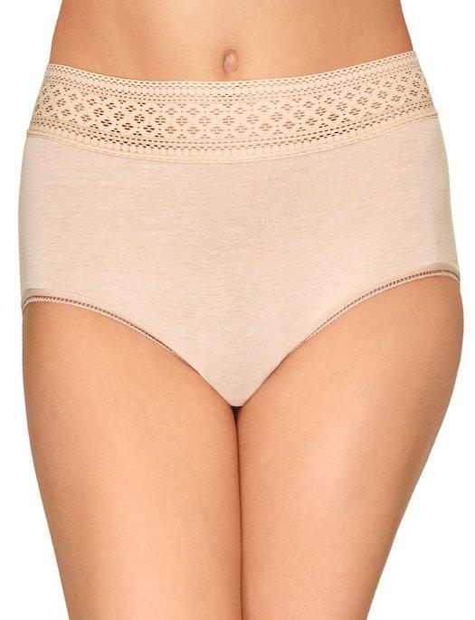 Wacoal Subtle Beauty Cotton Brief PANTY - BRIEF - BASIC WACOAL SAND XL