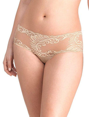 Natori Feathers Brief PANTY - BRIEF - BASIC NATORI BRA CAFE LG