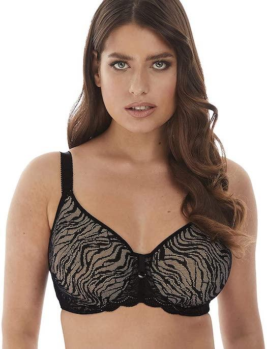Fantasie Impression Moulded Underwire Bra BRA - BASIC - T-SHIRT FANTASIE BLACK 40DD