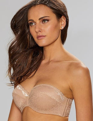 B.Temptd b.enticing Strapless Bra BRA - BASIC - STRAPLESS B.Tempt'd AU NATURAL 30C