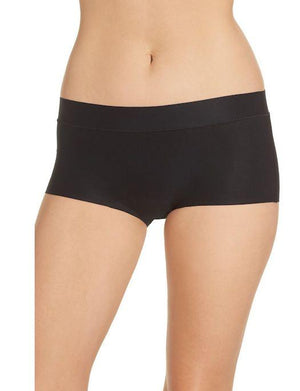 Chantelle Soft Stretch Regular Boyshort PANTY - BOYSHORT - ODD CHANTELLE 11-BLACK O/S