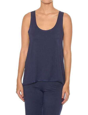 Addiction Douceur Trapeze Top SLEEPWEAR - TOP ADDICTION NAVY SM
