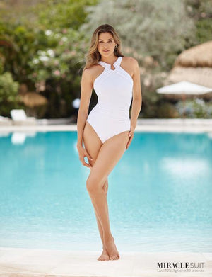 Miraclesuit Rock Solid Aphrodite One Piece Swimsuit SWIM - ONE PIECE Miraclesuit WHITE 16