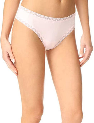 Natori Bliss Girl Cheeky Thong PANTY - THONG - ODD NATORI BRA BLUSH XL
