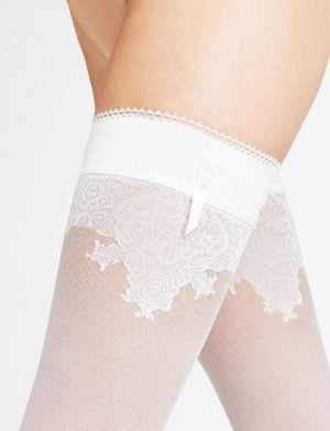 Falke Ceremonial 15 Denier Stay Up Thigh High ACCESSORIES - HOSIERY FALKE IVORY III