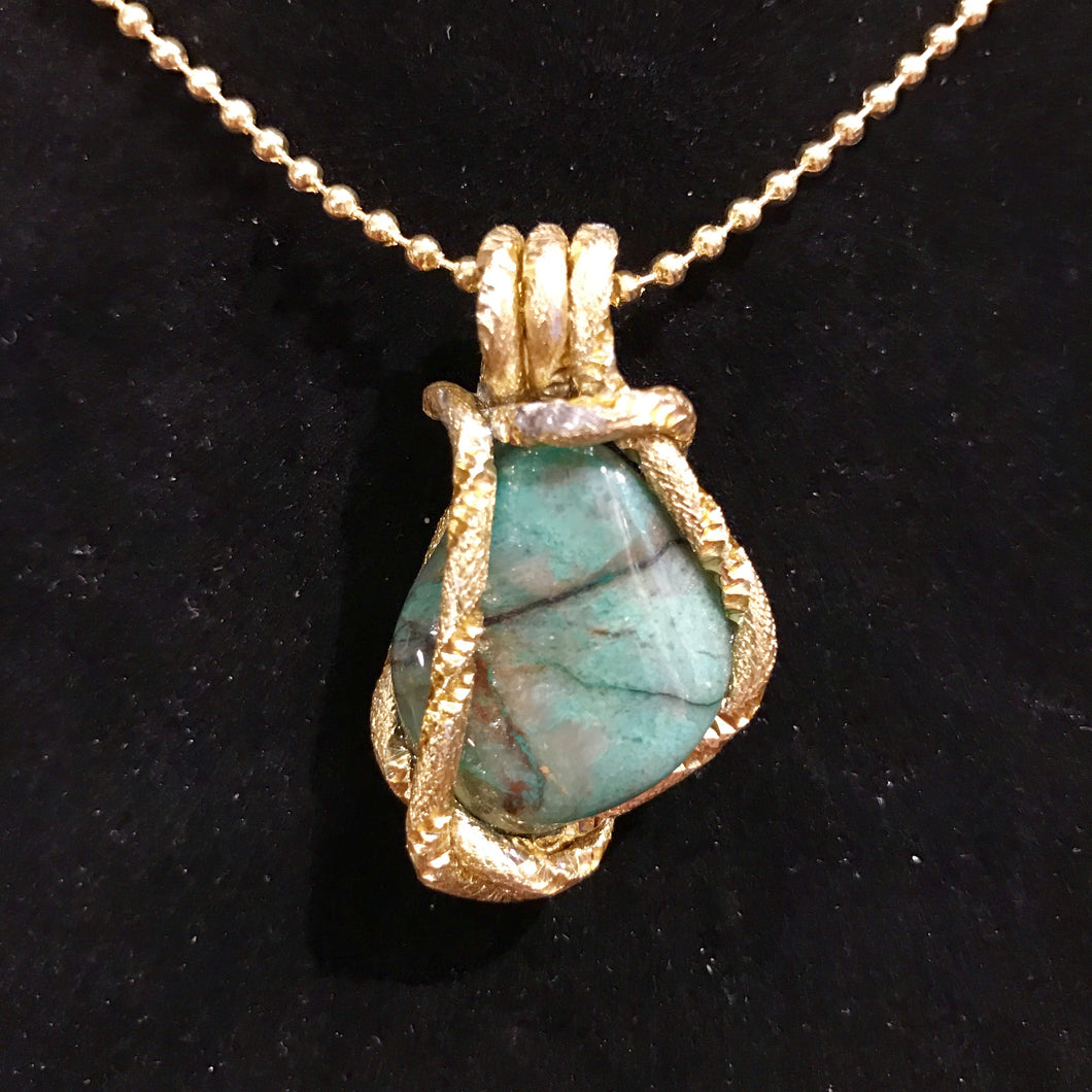 Petite Jade Passage necklace